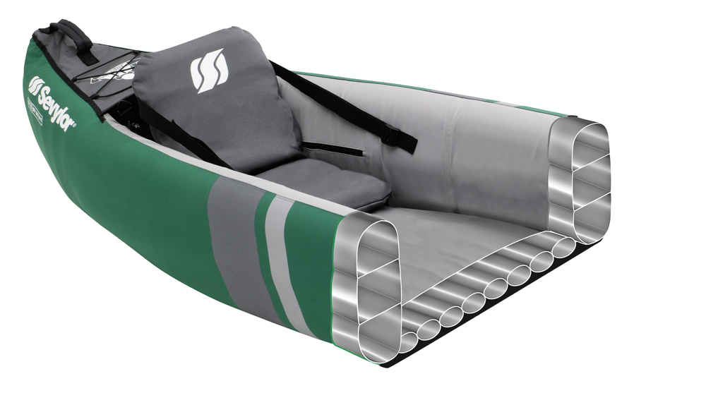 Sevylor Adventure Plus 3 Person Inflatable Kayak Water